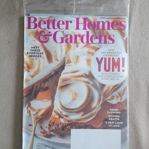 Better Homes & Garden issue November 20